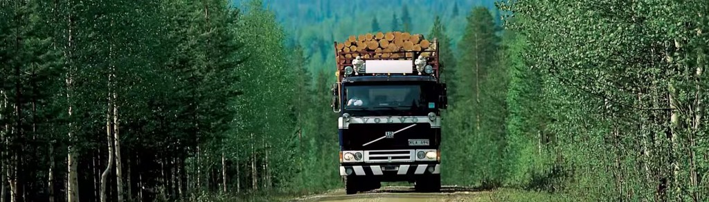 Hout transport